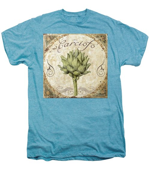 Mangia Carciofo Artichoke Men's Premium T-Shirt by Mindy Sommers