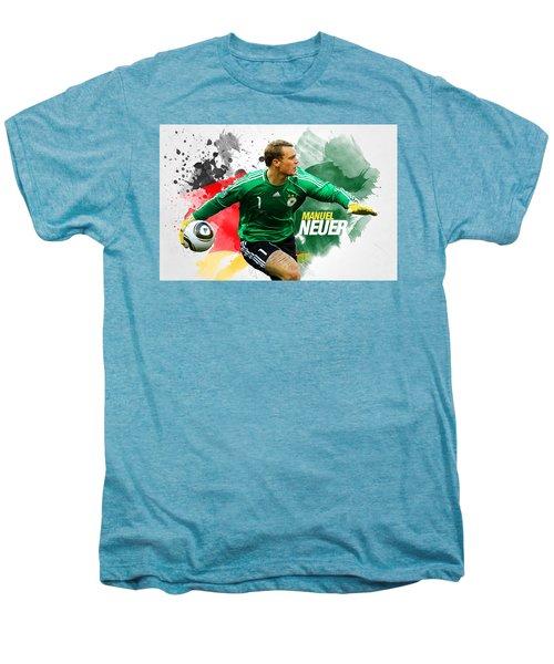 Manuel Neuer Men's Premium T-Shirt by Semih Yurdabak
