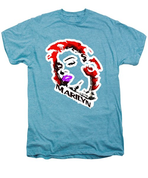 Marilyn Men's Premium T-Shirt by Voldemaras Lemon