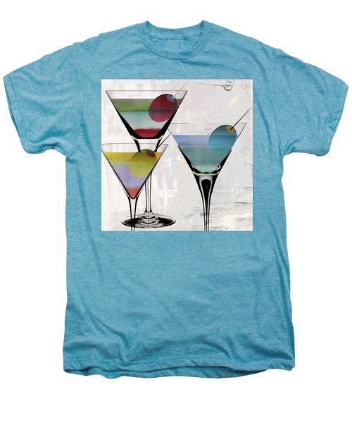 Martini Prism Men's Premium T-Shirt by Mindy Sommers
