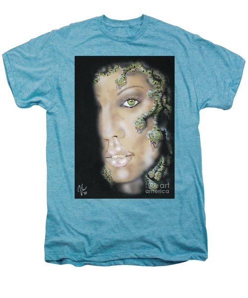 Medusa Men's Premium T-Shirt by John Sodja