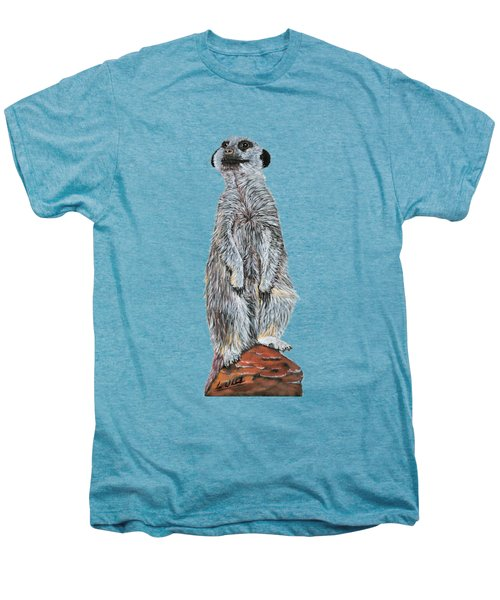 Meer Curiosity Custom Men's Premium T-Shirt by Lee Wolf Winter