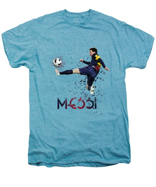 Messi Men's Premium T-Shirt by Armaan Sandhu