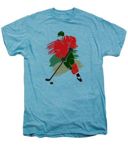 Minnesota Wild Player Shirt Men's Premium T-Shirt by Joe Hamilton