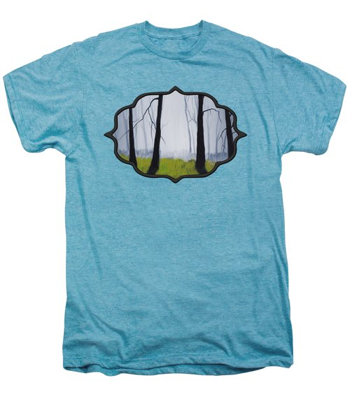Misty Forest Men's Premium T-Shirt by Anastasiya Malakhova