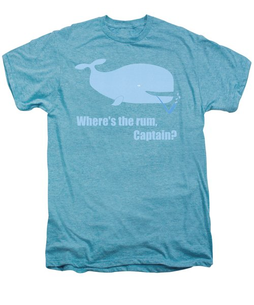 Moby Dick Or The Whale Men's Premium T-Shirt by Frank Tschakert