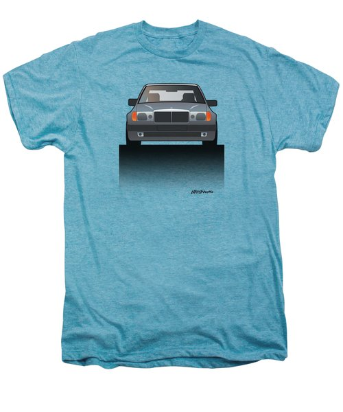 Modern Euro Icons Series Mercedes Benz W124 500e Split  Men's Premium T-Shirt by Monkey Crisis On Mars