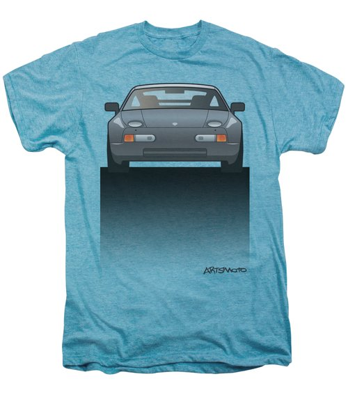 Modern Euro Icons Series Porsche 928 Gts Split Men's Premium T-Shirt by Monkey Crisis On Mars