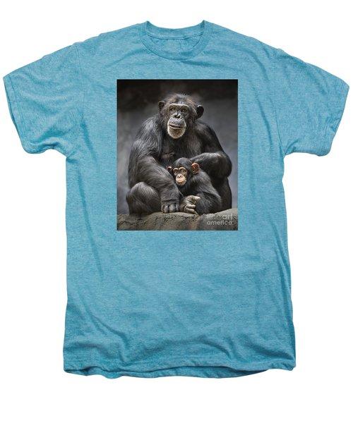 Mom And Baby Men's Premium T-Shirt by Jamie Pham