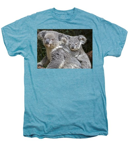 Mommy Hugs Men's Premium T-Shirt by Jamie Pham
