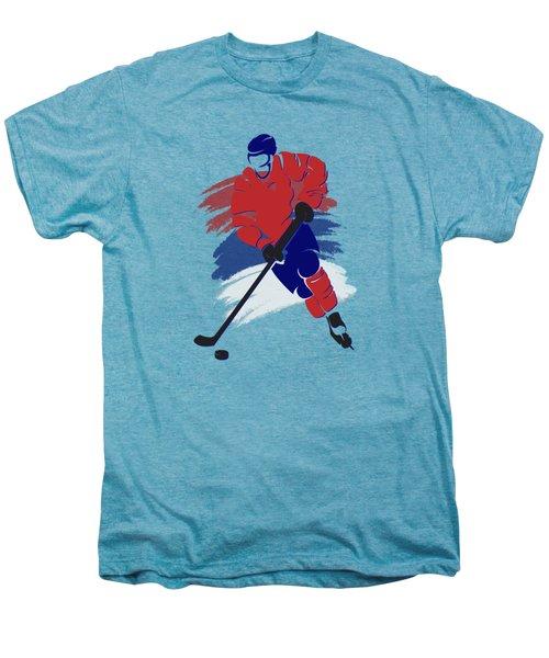 Montreal Canadiens Player Shirt Men's Premium T-Shirt by Joe Hamilton