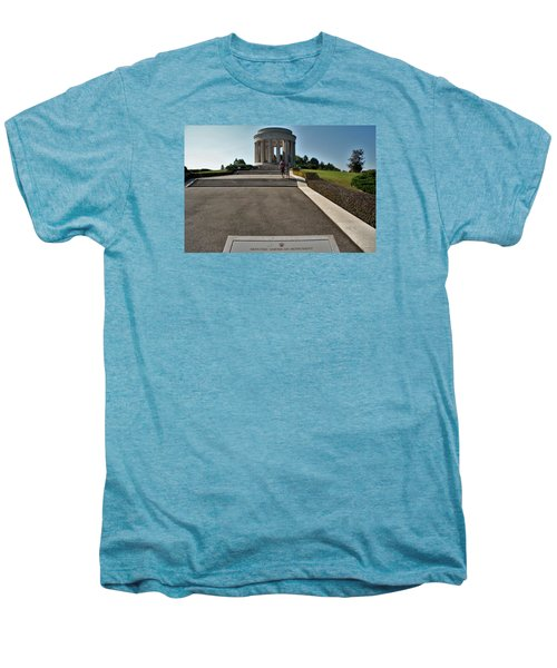 Men's Premium T-Shirt featuring the photograph Montsec American Monument by Travel Pics