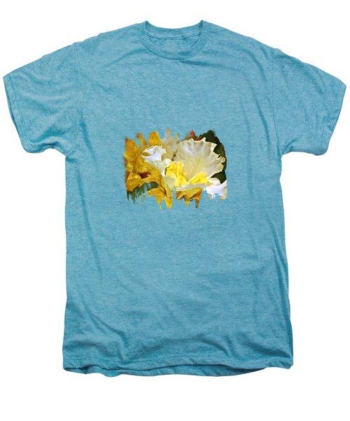 Morning Iris Men's Premium T-Shirt by Thom Zehrfeld