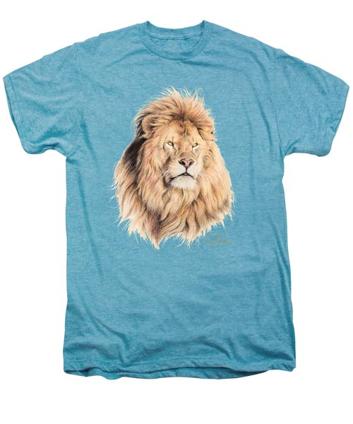 Mufasa Men's Premium T-Shirt by Lucie Bilodeau