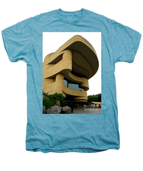 National Museum Of The American Indian 1 Men's Premium T-Shirt by Randall Weidner