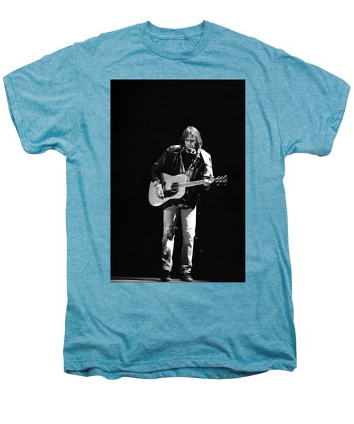 Neil Young Men's Premium T-Shirt by Wayne Doyle
