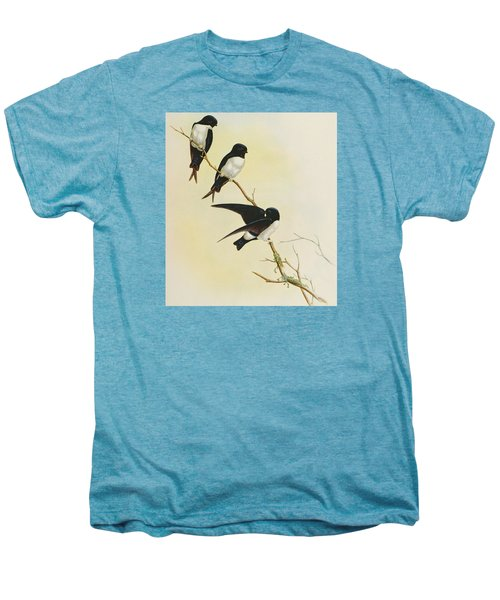Nepal House Martin Men's Premium T-Shirt by John Gould