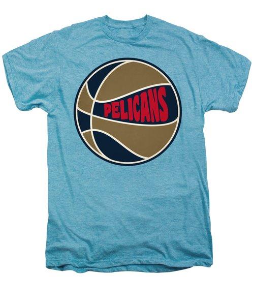 New Orleans Pelicans Retro Shirt Men's Premium T-Shirt by Joe Hamilton
