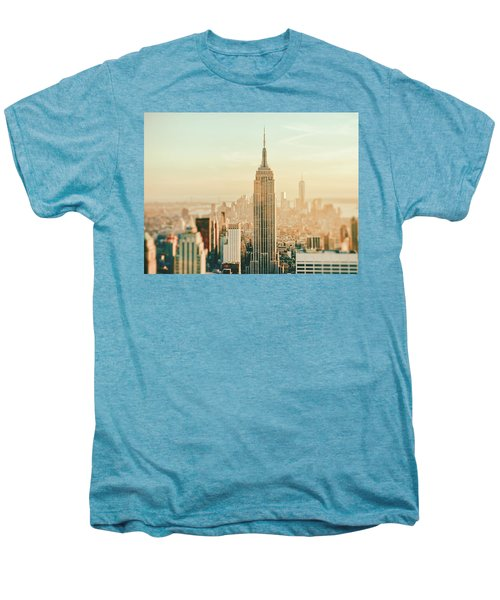 New York City - Skyline Dream Men's Premium T-Shirt by Vivienne Gucwa