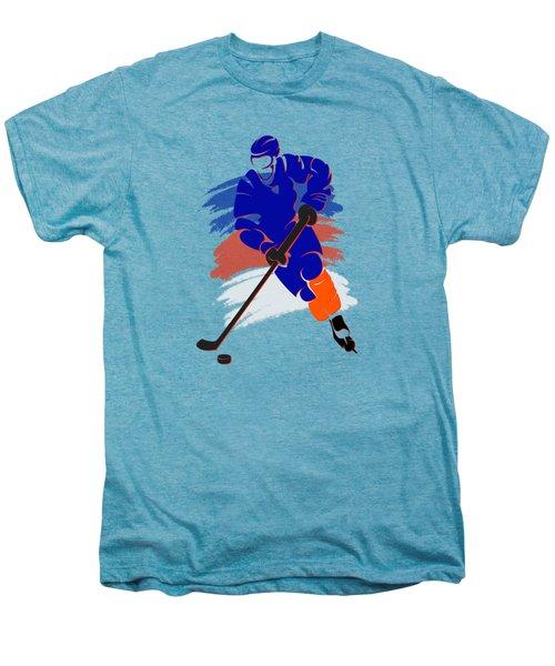New York Islanders Player Shirt Men's Premium T-Shirt by Joe Hamilton