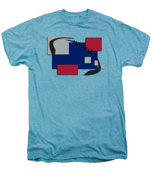 New York Giants Abstract Shirt Men's Premium T-Shirt by Joe Hamilton