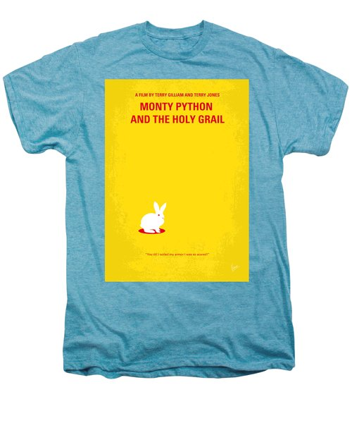 No036 My Monty Python And The Holy Grail Minimal Movie Poster Men's Premium T-Shirt by Chungkong Art