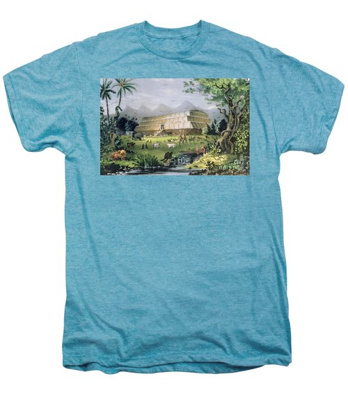 Noahs Ark Men's Premium T-Shirt by Currier and Ives