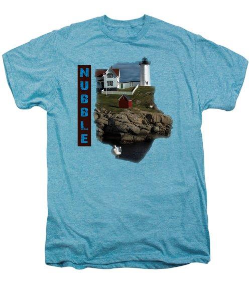 Nubble T-shirt Men's Premium T-Shirt by Mim White