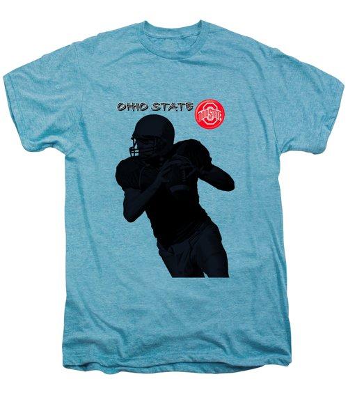 Ohio State Football Men's Premium T-Shirt by David Dehner