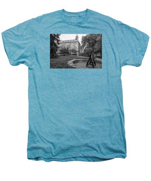 Old Main Penn State University  Men's Premium T-Shirt by John McGraw