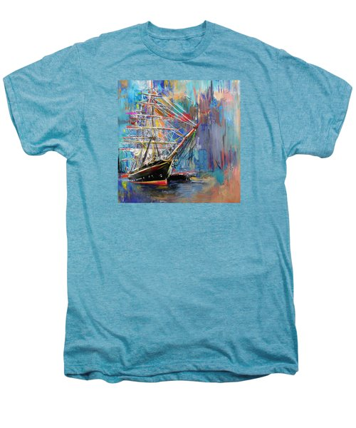 Old Ship 226 1 Men's Premium T-Shirt by Mawra Tahreem