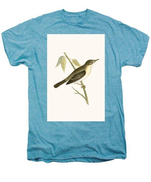 Olivaceous Warbler Men's Premium T-Shirt by English School