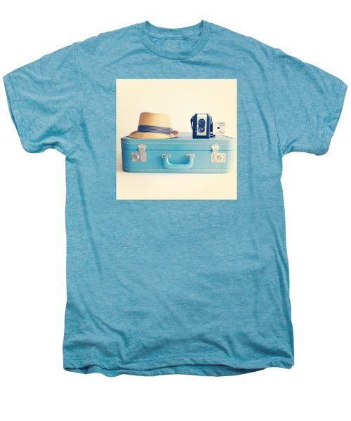 On The Road Men's Premium T-Shirt by Colleen VT