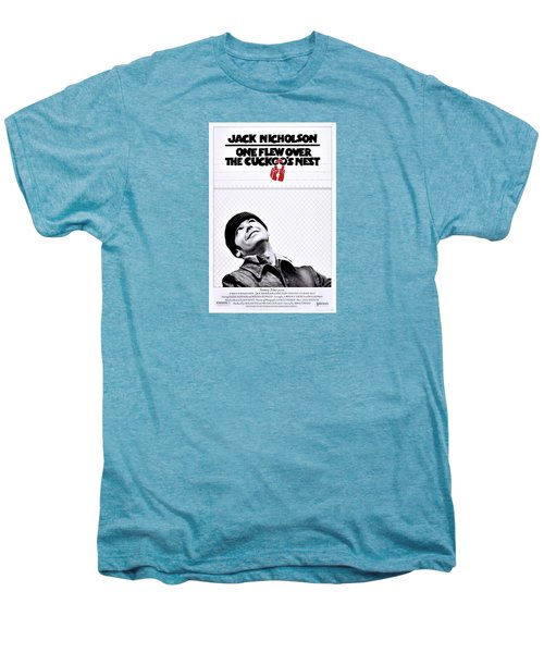 One Flew Over The Cuckoo's Nest Men's Premium T-Shirt by Movie Poster Prints