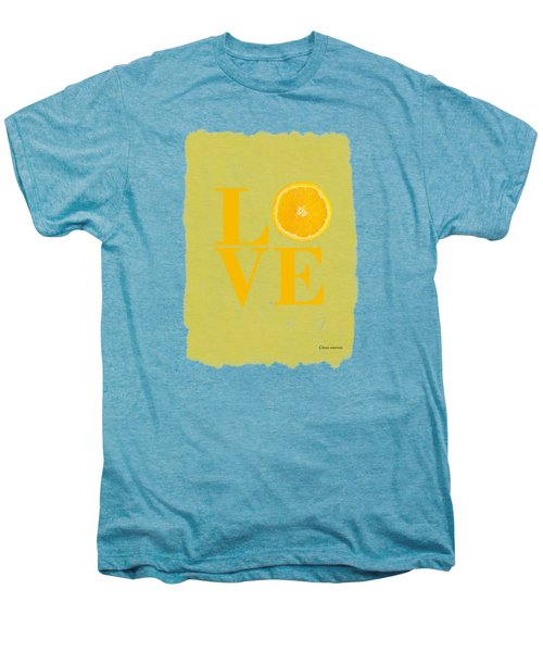 Orange Men's Premium T-Shirt by Mark Rogan