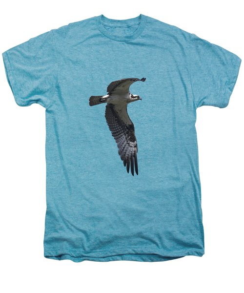 Osprey In Flight 2 Men's Premium T-Shirt by Priscilla Burgers