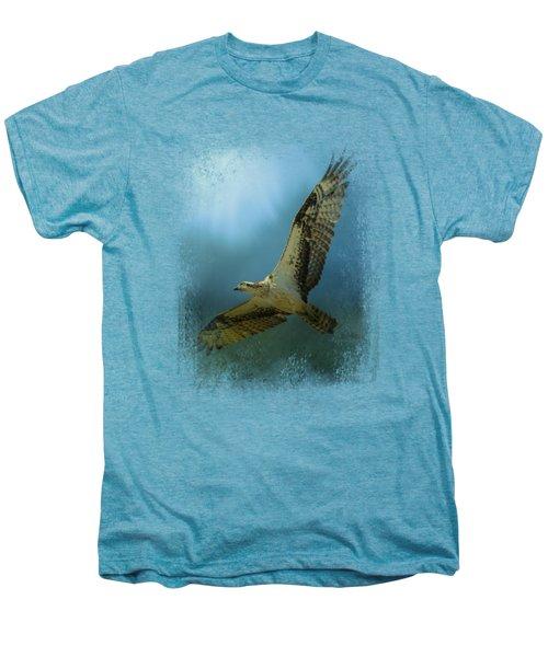 Osprey In The Evening Light Men's Premium T-Shirt by Jai Johnson