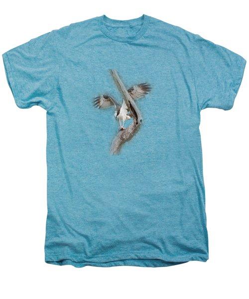 Osprey Tee-shirt Men's Premium T-Shirt by Donna Brown