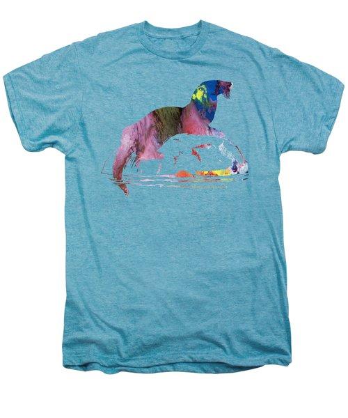 Otter Men's Premium T-Shirt by Mordax Furittus