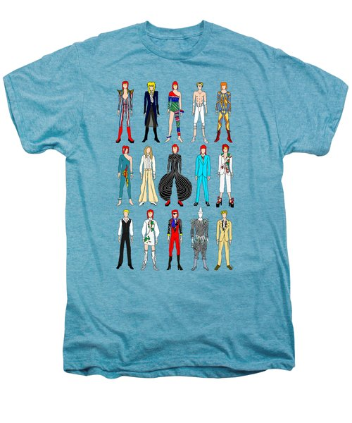 Outfits Of Bowie Men's Premium T-Shirt by Notsniw Art