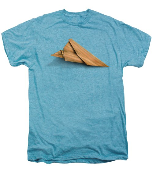 Paper Airplanes Of Wood 2 Men's Premium T-Shirt by Yo Pedro