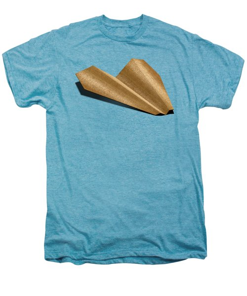 Paper Airplanes Of Wood 6 Men's Premium T-Shirt by YoPedro