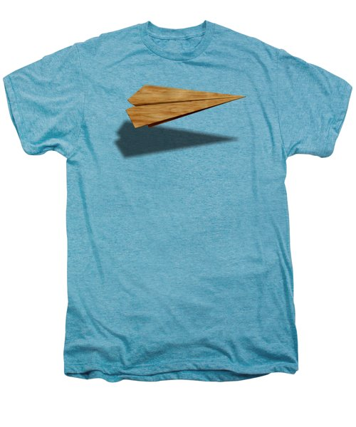 Paper Airplanes Of Wood 9 Men's Premium T-Shirt by YoPedro