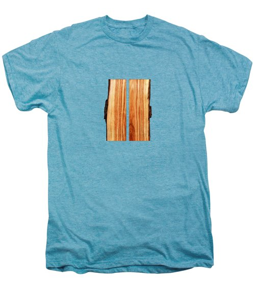 Parallel Wood Men's Premium T-Shirt by YoPedro