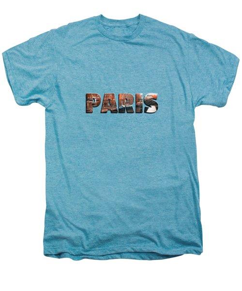 Paris In Fall Men's Premium T-Shirt by Konstantin Sevostyanov