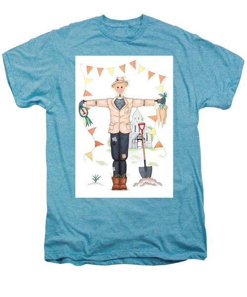 Parson Scarecrow Men's Premium T-Shirt by Sandra Moore