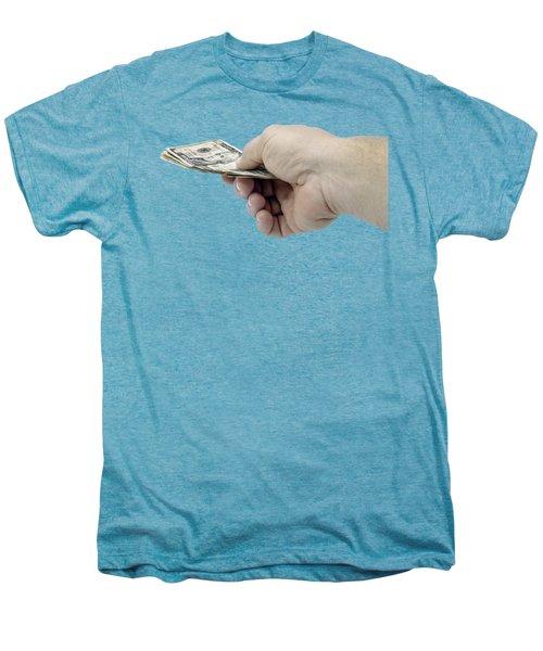Pay Money Men's Premium T-Shirt by Erich Grant