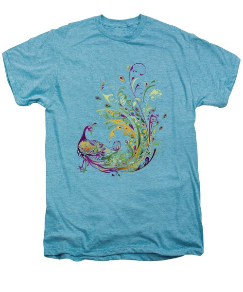 Peacock Men's Premium T-Shirt by BONB Creative