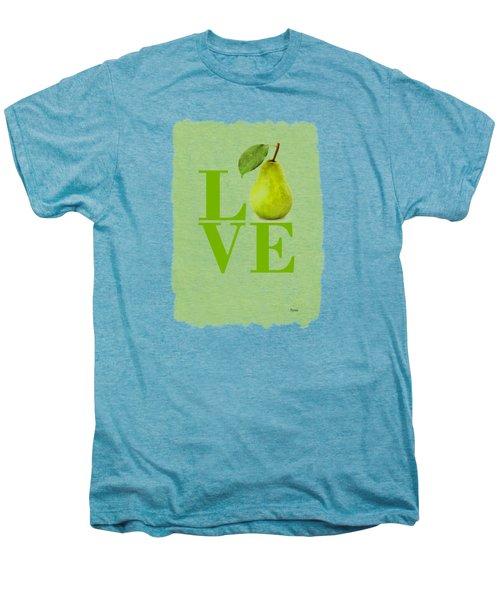 Pear Men's Premium T-Shirt by Mark Rogan