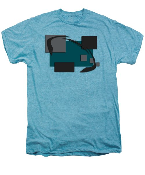 Philadelphia Eagles Abstract Shirt Men's Premium T-Shirt by Joe Hamilton